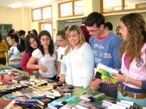 Feria del Libro en el IES de Porcuna