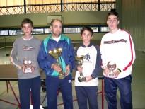 Con una magnífica organización se celebró el I Campeonato de Tenis de Mesa ''MíaQué PINPON''
