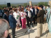 Gaspar Zarrías inaugura el nuevo depósito de agua en la Cabra Mocha