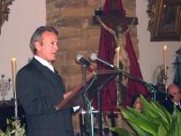 José Beltrán pronunció el pregón de Semana Santa