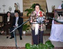 Amparo Vallejos anunció la Semana Santa de Porcuna 2004
