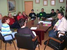 Las plataformas jiennenses antivertedero se entrevistan con la Delegada de Medio Ambiente de Jaén