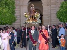 San Isidro bendice el campo de Porcuna